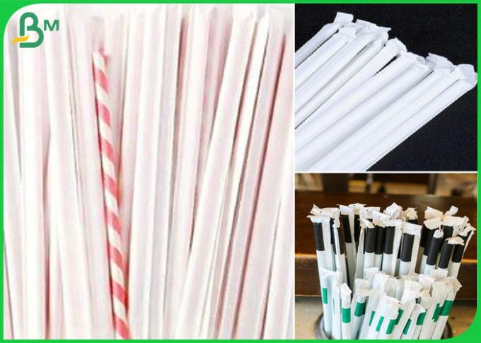 straw wrapping paper