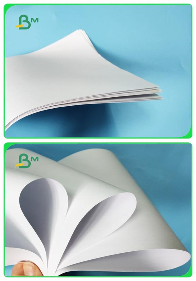 Whiteness Good Ink Absorption Uncoated Woodfree Paper For Printing School Textbook