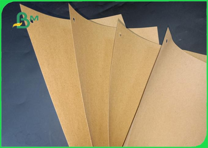 70 / 80 Gsm Moisture - Proof Good Printing Sack Kraft Brown Paper For Bags