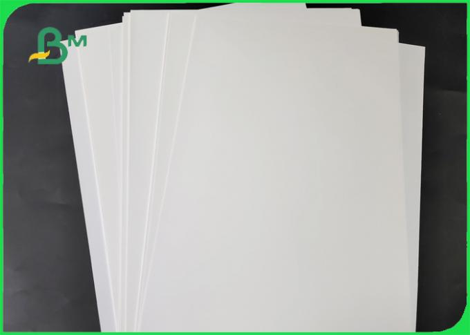 120GSM - 600GSM Stone Paper / Rich Mineral Paper High Whiteness Recyclable