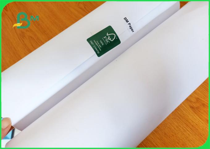 60gsm 70gsm 80gsm large format inkjet engineering plotter paper in roll